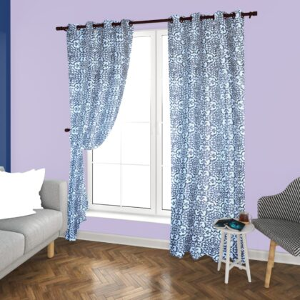 Duck Cotton Curtains Pair