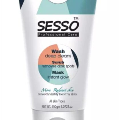 Sesso Wash Scrub Mask 150ml